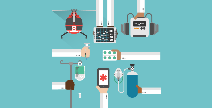 Icons of Medical Devices