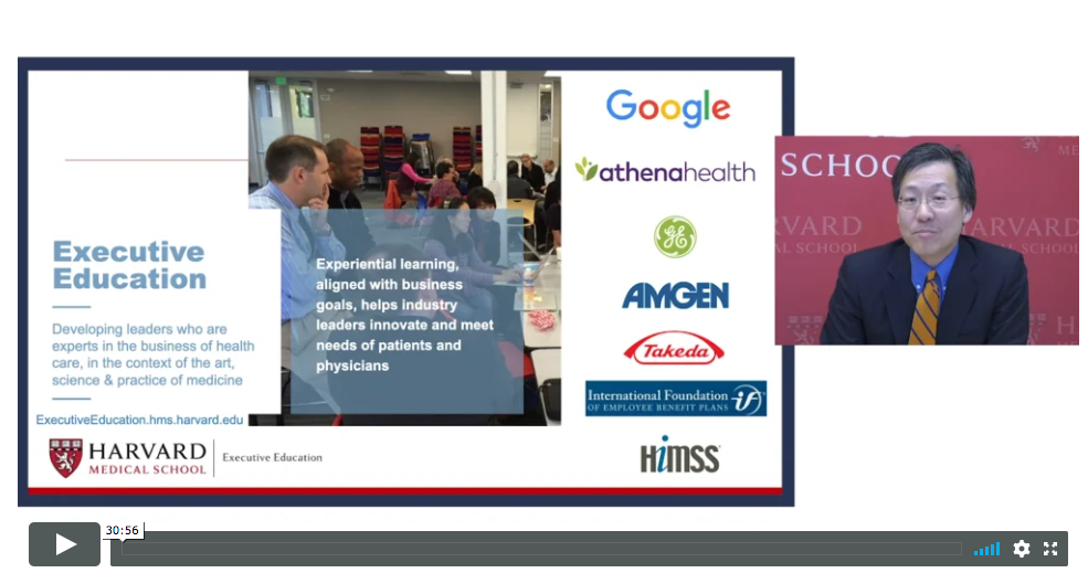 Driving Business Innovation Inside the Health Care Ecosystem Webinar